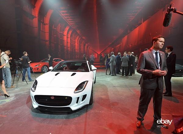 Jaguar F Type Coupe World Debut At La Auto Show Ebay Motors Blog