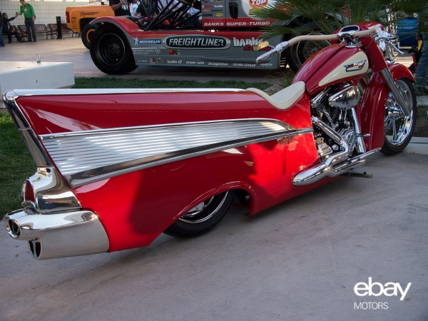 Harley Davidson Bel Air Classic Bobber Meets Classic