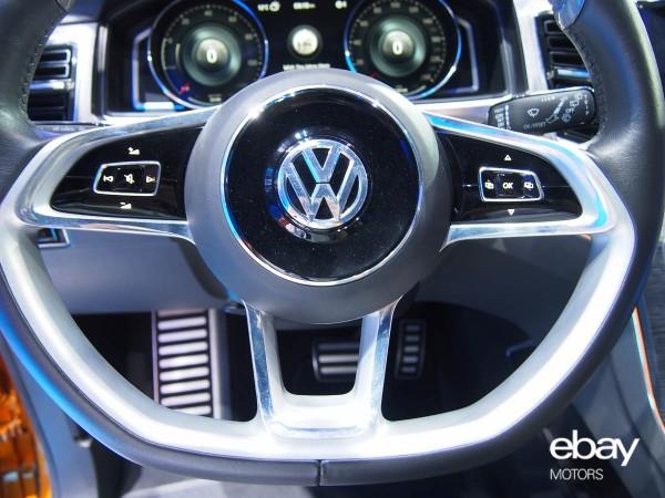U S Debut Of Vw Crossblue Coupe Concept Ebay Motors Blog