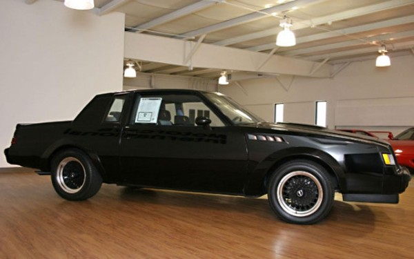 1987 Buick Grand National GNX black
