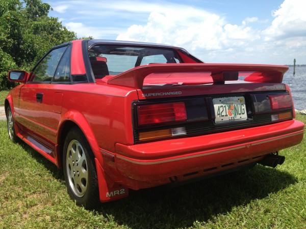 1988 Toyota MR2 supercharged