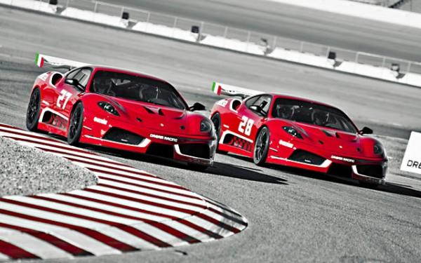 dream racing ferrari f430 gt at las vegas motor speedway