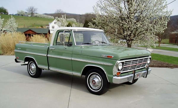 1969 Ford F100 Field Of Dreams Ebay Motors Blog