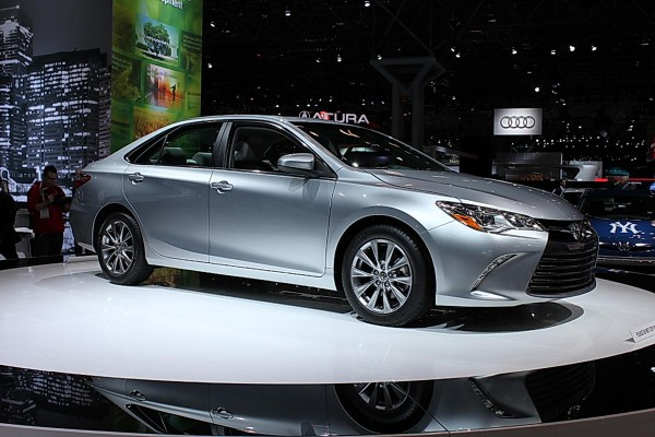 2015 Toyota Camry Reveal | NYIAS