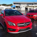 mercedes amg cla45 vs bmw m235