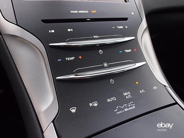 Lincoln slide controls