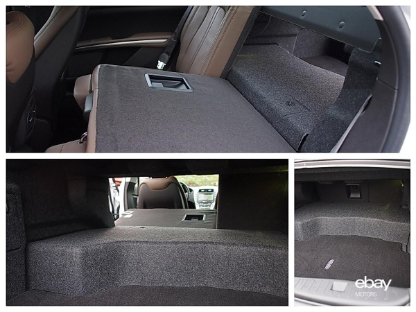Lincoln MKZ Hybrid compromised trunk space