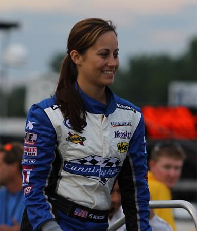 #72 Shannon McIntosh first ARCA race