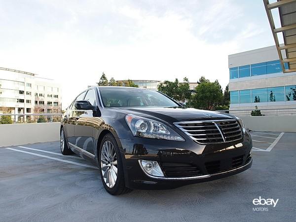 Photo Gallery 2014 Hyundai Equus Ebay Motors Blog