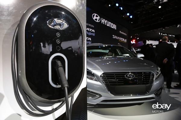 Hyundai Sonata Plugin Hybrid At Naias