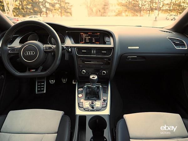 2015 Audi S5 Interior