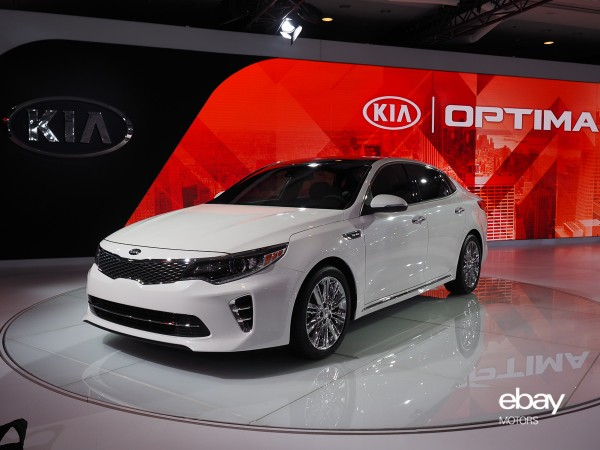 Redesigned 2016 Kia Optima At 2017 Nyias