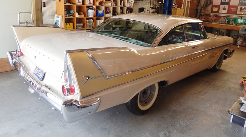 Restoring A 1958 Plymouth Fury Nothing To Do With
