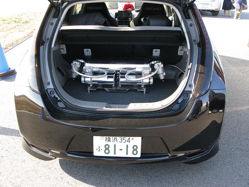 Nissan leaf battery pack upgrade