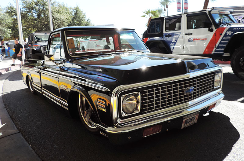 There S Still Room For An Old School Classic Truck At Sema