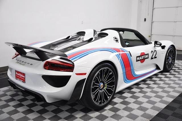 Porsche 918 spyder weissach package for sale