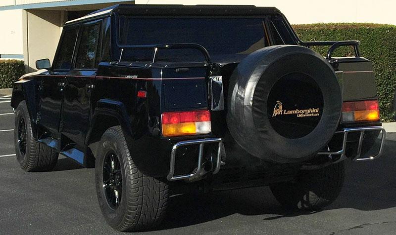 Legendary Italian V12 Suv Is Known As Rambo Lambo Ebay Motors Blog