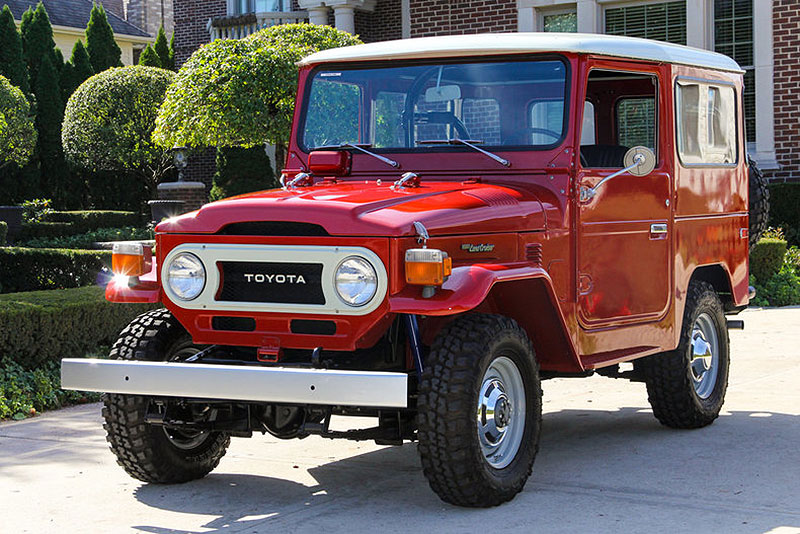 Affordable Classic 4x4 The Toyota Fj 40 Land Cruiser