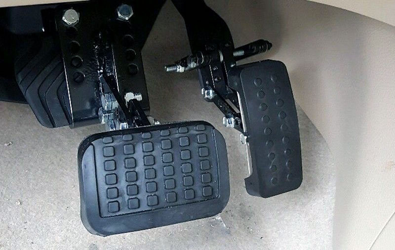 Mobility Pedals Are Designed For Physically Challenged People Who May Not Be Able To Control A Vehicle By Use Of Traditional Foot