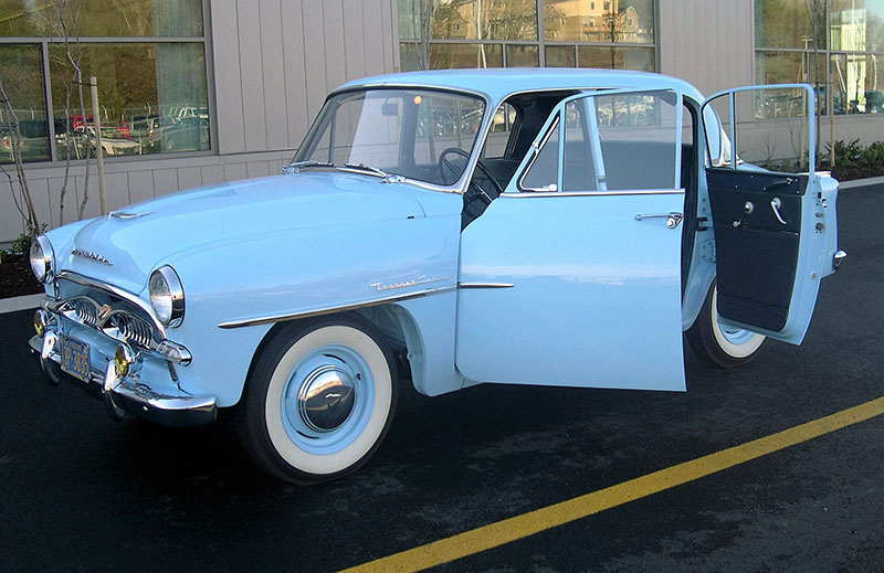 The Toyopet Toyota 39 S First Entry In The United States