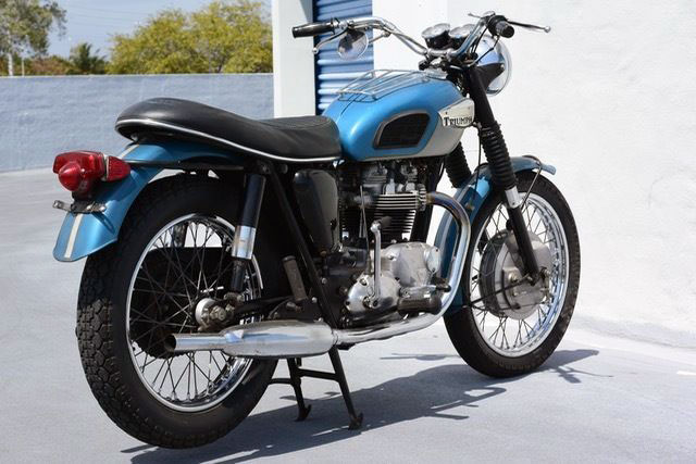 The Untamed 1968 Triumph Trophy TR6R | eBay Motors Blog
