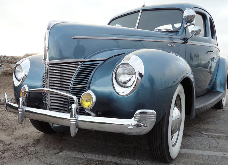 The Graceful 1940 Ford Was a Favorite for Moonshiners | eBay