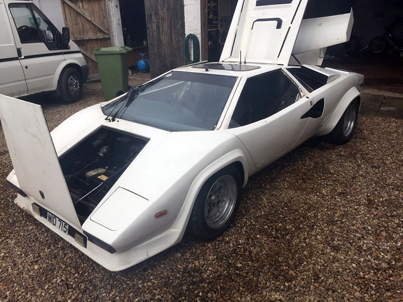 This Z1a Lamborghini Countach Replica Is Amphibious Ebay Motors Blog