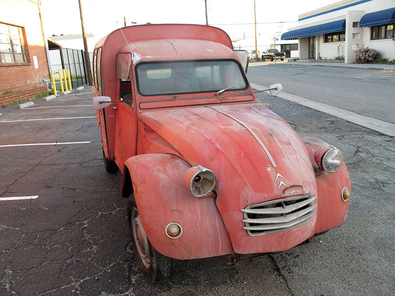 eBay Listing: A Rare Citroën 2CV Van on American Soil | eBay ...