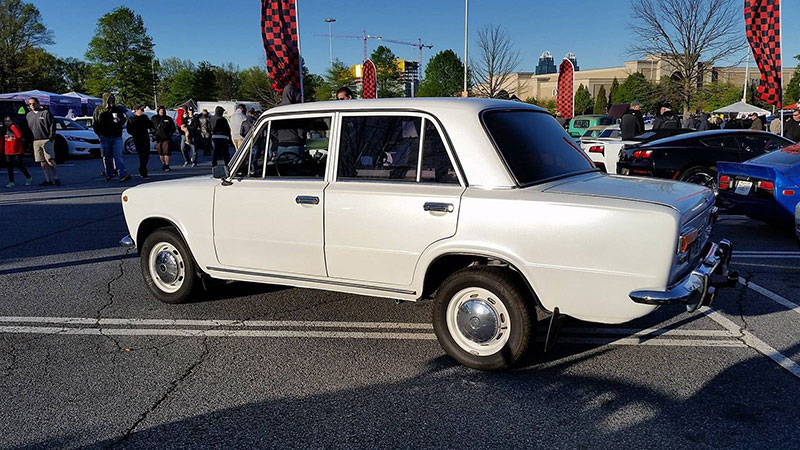 A 1983 Soviet Lada 2101 That Defected to the United States