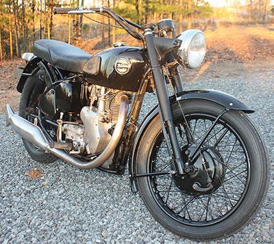 1960 Velocette Venom now listed on eBay.