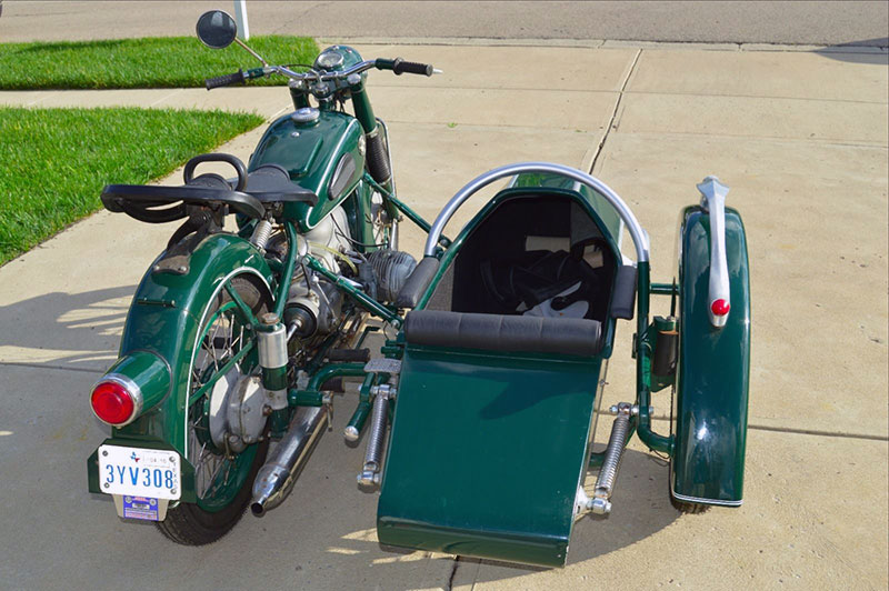 Love On Three Wheels The 1953 Bmw R51 3 Ebay Motors Blog