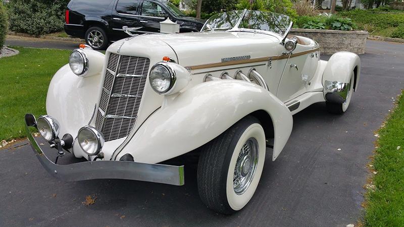 California Custom Coach Reinvents The 1930s Auburn Speedster Ebay Motors Blog