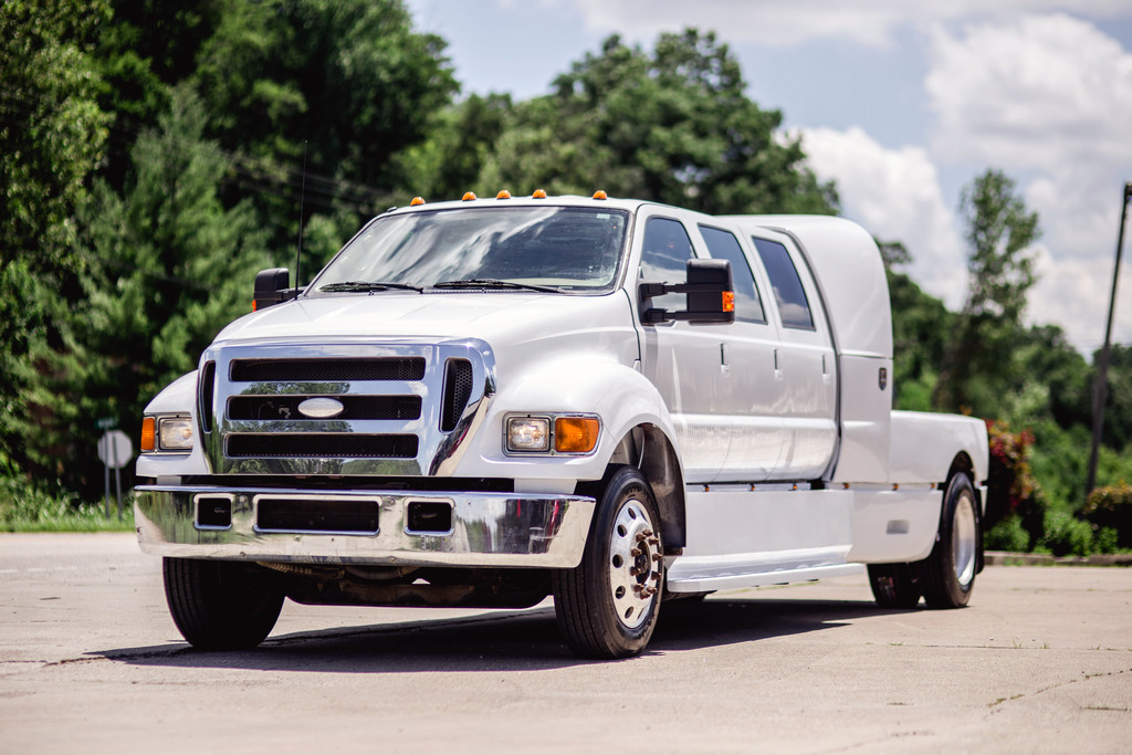 2005 Ford F-750 6-Door Super Crewzer & Taking Pick-Ups to the Extreme: Custom Six-Door Super Trucks | eBay ...