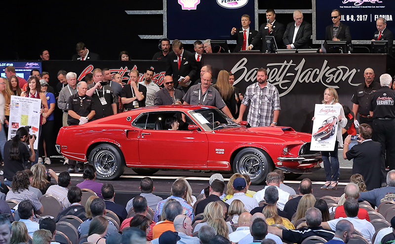 Barrett jackson 39 s las vegas event reveals latest auction for Ebay motors las vegas