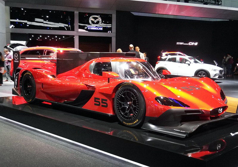 The Coolest Race Cars At Los Angeles Auto Show EBay - Cool mazda cars