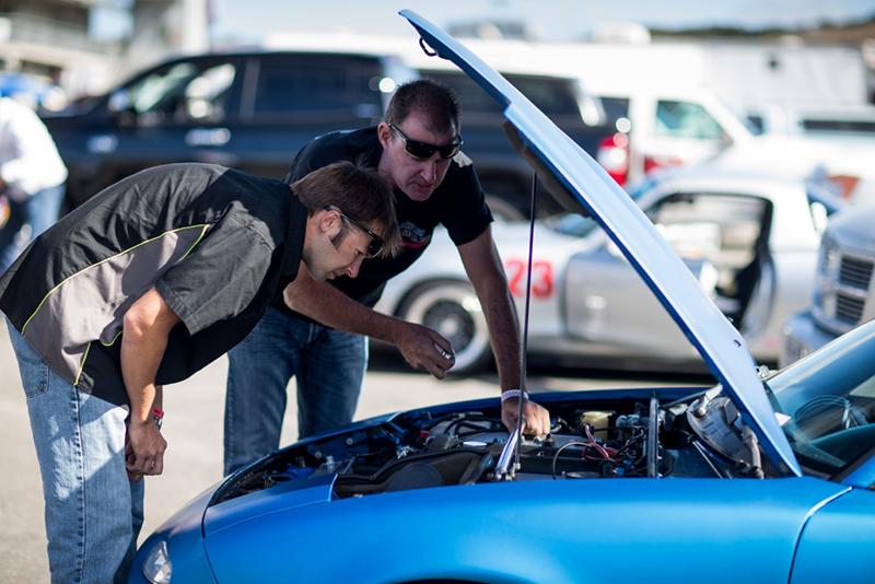 Inspecting your car's fluids