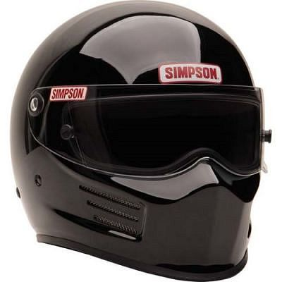 This Simpson Racing Bandit helmet is certified as SA2015.