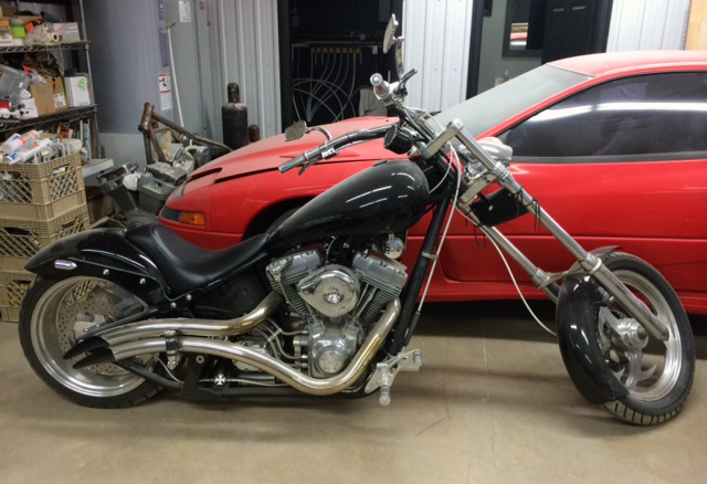 Motorcycle Enthusiast Builds His Dream Bike From Ebay Sourced Parts Ebay Motors Blog